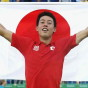 OLYMPIC CHAMPION: Ken Nishikori (Men's Tennis Bronze Medal)